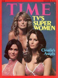 Time Magazine 1976. Charlie's Angels