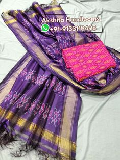 Pochampally ikkat cotton silk dress materials mtrs top with dupatta Available in stock For more details call or WhatsApp at Pochampally Sarees, Ikkat Saree, Banarasi Sarees, Ikkat Dresses, Silk Press, Silk Material, Saree Styles, Saree Blouse Designs, Wedding Wear
