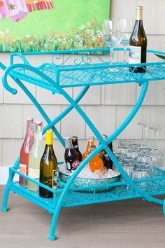 Mendez Manor : Backyard Project: Our Newest Addition & My Search For An Outdoor Serving Cart