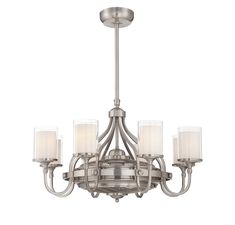 The Savoy House Etesian combines the beauty of a chandelier with the usefulness of a ceiling fan, then adds in air ionizing and circulating to create the perfect package. The satin nickel finish and dramatically curving arms, topped with glass shades tha Chandeliers, Ceiling Fan Chandelier, Chandelier Ideas, Outdoor Chandelier, Led Ceiling, Best Ceiling Fans, Ceiling Fan With Remote, Pretty In Pink, Compact Fluorescent Bulbs