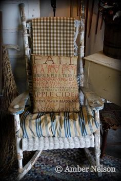 Antique Old Early Primitive Scarecrow Welcome Fall Sign Pillow Entry Bench Big   eBay