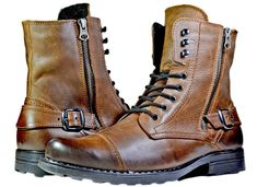 27 Amazing Mens Boots Under 20 Dollars Mens Boots Ugg Winter Mens Shoes Boots, Mens Boots Fashion, Leather Boots, Men's Shoes, Shoe Boots, Fashion Edgy, Mens Boots Style, Leather Men, Combat Boots Style