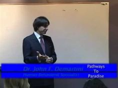 "Pathways to Paradise  - Dr John Demartini ""The Secrets, to dictating your Destiny and Wealth"""