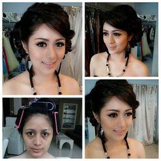 Make up by La Rose #makeup #prewedding #semarangbridal #larosebridal