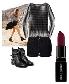 """""""Untitled #20"""" by hm1491460 on Polyvore featuring NSF, J.Crew, MANGO, Smashbox, women's clothing, women, female, woman, misses and juniors"""