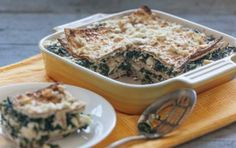Spinach and Feta Matzoh Pie // Don't put the leftover matzoh back in the pantry! #spring #recipe