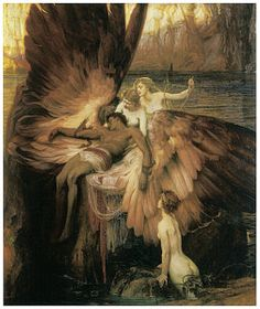 Icarus Myth Painting - The Lament For Icarus  by Herbert Draper