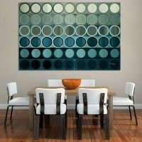 teal minimalist bedroom | Gallery Modern Colorful Wall Art Home Decor Paintings by Mark Lawrence ...