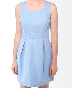 Pleated Fit & Flare Dress   FOREVER21 - 2021841020