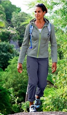 Comfy Hiking Wear- This is what I am wearing most days!  :)