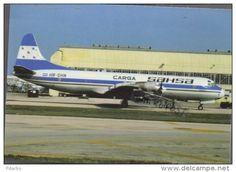 Lockheed L-188 Electra Aircraft SAHSA CARGO L 188 Airlain L-188 Avion Air L.188 Airplane Luft Lockheed 188 - 1946-....: Ere Moderne