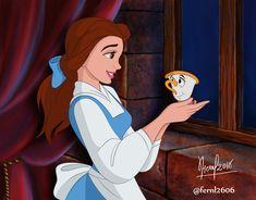 Inktober Prize Piece: Belle by ArtCrawl on DeviantArt Wallpaper Iphone Disney, Cartoon Wallpaper, Mary Poppins Jolly Holiday, Disney Background, Disney Animated Movies, Fanart, Disney Aesthetic, Disney Beauty And The Beast, Disney Fan Art