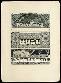 Mucha Alfonse - Plate Art Nouveau