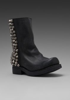 1e103644179d Jeffrey Campbell Coventry in Black Silver Leather Buckle