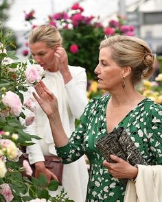 The Queen and other members of the royal family visited the RHS Chelsea Flower show, where The Duchess of Cambridge's Back To Nature garden was unveiled May)🌼 . In attendance: The Queen, The. Princess Sofia Of Sweden, Princess Estelle, Crown Princess Victoria, Crown Princess Mary, Princess Of Wales, Queen Silvia, Queen Elizabeth Ii, Louise Mountbatten, Viscount Severn