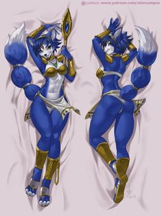 Krystal Dakimakura (Pack 33 / 1 - 10 July)