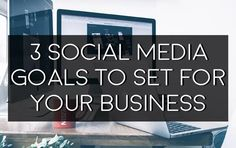 Setting goals is a great way to stay on track and give you direction. #SMM