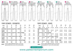 This is a pdf sewing pattern to make your own Women's Harem or Lounge Pants. They feature an easy elastic waistband, pockets, flattering leg &a...