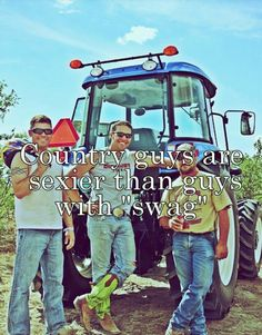 No swag for me. Country boys all the way!