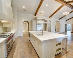 Huge Kitchen. Designed by Heritage Design Studio. Image by Imagery Intelligence.