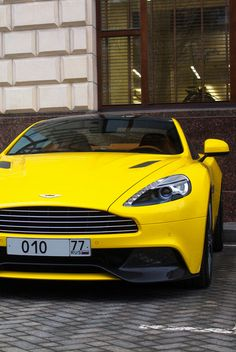 Aston Martin Vanquish (makes any color look good)