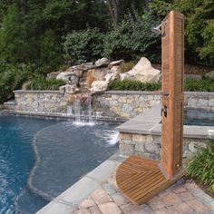 Backyard Outdoor Shower