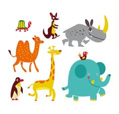 ZOO BOOK by Jamie Oliver Aspinall, via Behance