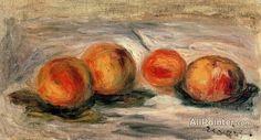 Pierre Auguste Renoir Peaches oil painting reproductions for sale