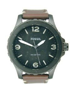 Fossil Nate Three-Hand Leather - Brown Men's watch #JR1450