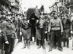 Entierro de Durruti en Barcelona (1936)
