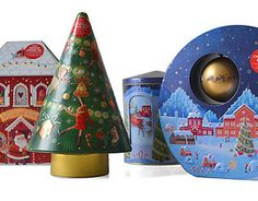 M&S Christmas Biscuit Tins