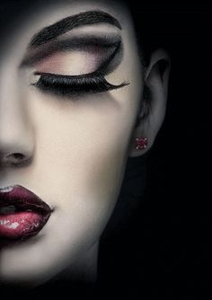 This makeup creates so much drama. Brought to you by ShopletPromos.com - promotional products for your business