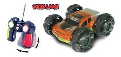 Power Stunt Extreme Remote Control Car (Colors May Vary) Full function radio controlled; Forward, Reverse, Stop, Left & Right steering. Intense speed, 360 degree spinning action, drive it, flip it, and keep racing!. Tough housing for tough play! Stylish metallic paint finish. Multi colored flashing LED lights, Full functioning, two-sided vehicle. Built-in Rechargeable Battery (Batteries & Charger ... #Kidzlane #Toy