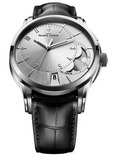 Maurice Lacroix - Pontos Decentrique Phase de Lune #MauriceLacroix Swiss Watchmakers  #horlogerie @calibrelondon