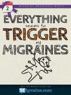 This is true for me.  I can't seem to narrow anything down, except for light and a possible barometric pressure problem.  But there are more migraines than that, so I keep trying to narrow it down for those also.  Bah!