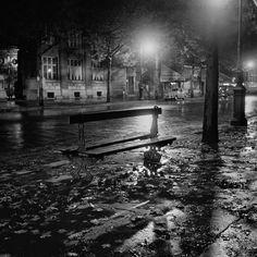 Adolfo Kaminsky - Paris la nuit, le banc (1948)