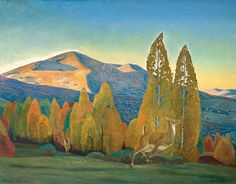 Mount Equinox, Vermont, 1921-1923, Rockwell Kent. American (1882 - 1971) - Oil on Canvas -