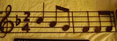 FINAL SALE Musical scale 30 inch wall by SkyAccessoryBoutique, $15.00