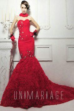 Location robe de luxe bordeaux