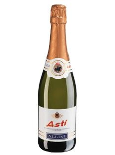 Asti Spumante: goes very nicely with light, fruity and not too sweet desserts.