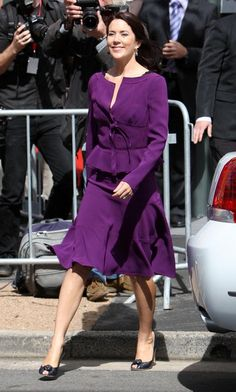 Lovely Crown Princess Mary of Denmark
