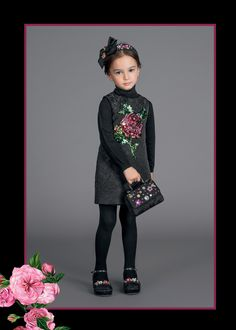 Discover the new Dolce&Gabbana Children Girl Collection for Summer 2017 and get inspired. Dope Outfits, Pretty Outfits, Girl Outfits, Casual Outfits, Kids Girls, Cute Girls, Versace, Fendi, Smart Casual Outfit