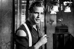 Marlon Brando in 'A Streetcar Named Desire', 1951.