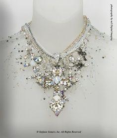 by Stefanie Somers - Swarovski crystals