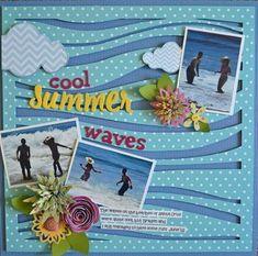 Cool Summer Waves by Guiseppa Gubler