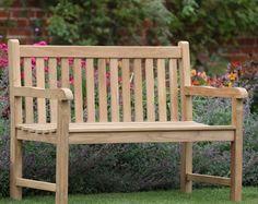 Amazoncom Plow Hearth Sir Edwin Lutyens English Garden Bench