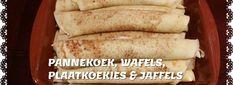 PANNEKOEK/ PLAATKOEKIES/WAFELS/JAFFELS Cinnabon Cinnamon Rolls, Waffles, Pancakes, Biltong, South African Recipes, Afrikaans, Fudge, Sauces, Smoothies