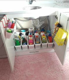 DIY First Apartment Organization Ideas - For the Home DIY First Apartment Organization Ideas DIY First Apartment Organization Ideas ⋆ amplif Kitchen Organization Pantry, Diy Kitchen Storage, Bathroom Organisation, Diy Organization, Organization Ideas For The Home, Organizing Ideas, Storage Ideas, Organisation Ideas, Storage Hacks