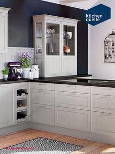 Die Küchenschränke Von Der Systema 6035 Im Typischen Kassettenformlook  Verzaubern Jede Küche Mit Ihrem Landhaus