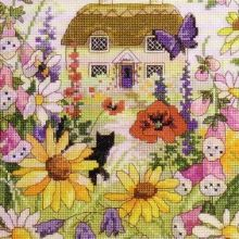 Gallery.ru / Все альбомы пользователя natalytretyak Fabric Pictures, Vintage World Maps, Birds, Embroidery, Painting, Art, Gallery, Cottage, Cross Stitch Landscape